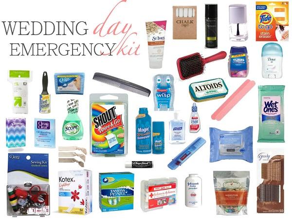 wedding day emergency kit, wedding planner in udaipur