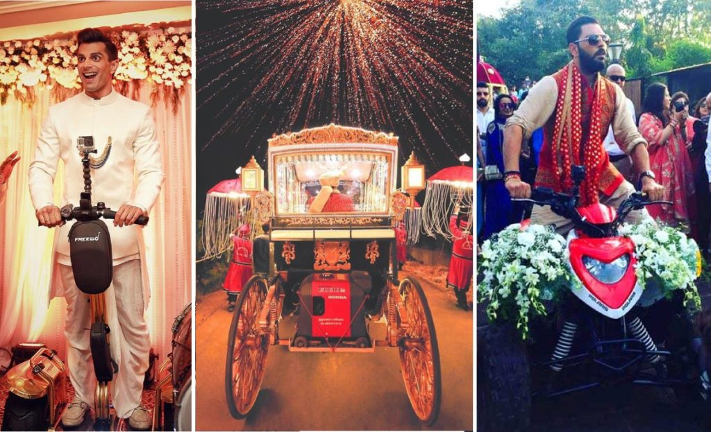 Top 5 Unique Entry Ideas For Groom To Reach #BaraatGoals in 2019, wedding planner in udaipur, event planner in udaipur