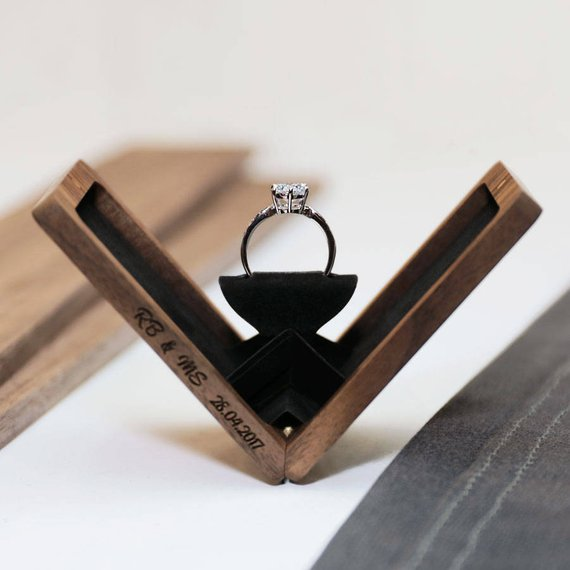 wedding ring box, Wedding Essentials: To-do Things For Groom Before Marriage