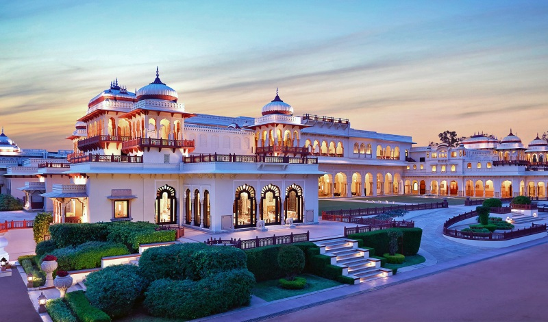 Destination wedding in jaipur, Rambagh palace jaipur, Top 5 Taj Palaces for Destination Wedding