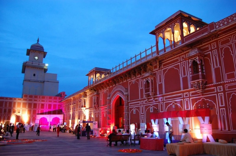 Destination wedding in jaipur, City palace  jaipur