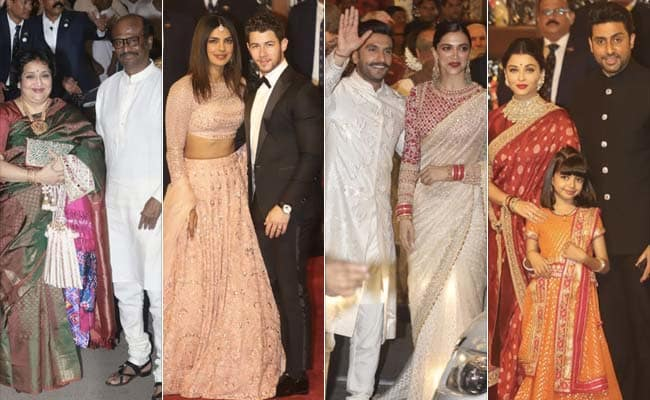 celebrities at Aakash amabani wedding,