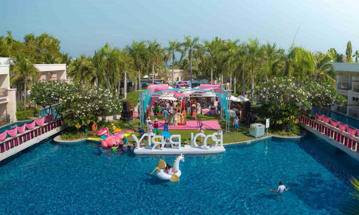 wedding pool party, destination wedding pool party, wedding planner in udaipur, wedding planner in rajasthan, wedding planner in india, event planner in udaipur, event planner in rajasthan, best wedding planner in udaipur